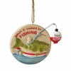 Item # 260966 - Resin/Metal Fishing Christmas Ornament