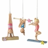 Item # 260991 - Resin Gymnast Christmas Ornament