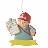 Item # 261025 - Resin #1 Coach Christmas Ornament