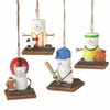 Item # 261044 - Resin S'mores Sports Christmas Ornament