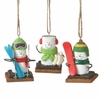 Item # 261068 - S'mores Winter Sports Christmas Ornament