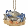 Item # 261088 - Crab On Driftwood Christmas Ornament