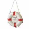 Item # 261089 - Resin Beach Lifering Christmas Ornament