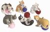 Item # 261094 - Resin Cat With Ball Of Yarn Christmas Ornament
