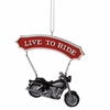 Item # 261172 - Resin Motorcycle Christmas Ornament