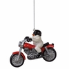 Item # 261178 - Snowman On Motorcycle Ornament
