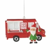 Item # 261183 - Santa's Treat Truck Christmas Ornament