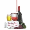 Item # 261186 - Supporter Of Wineries Christmas Ornament
