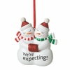 Item # 261220 - We're Expecting Snowman Ornament