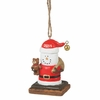 Item # 261252 - S'mores Santa With Bear 2015 Christmas Ornament