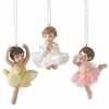 Item # 261293 - Resin Ballet Girl Christmas Ornament