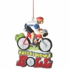 Item # 261316 - Resin Biker How I Roll Christmas Ornament