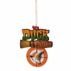 Item # 261333 - Duck Hunting Bullseye Christmas Ornament