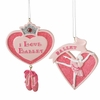 Item # 261379 - Ballet Heart Christmas Ornament