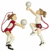 Item # 261385 - Resin Girl Volleyball Ornament