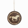 Item # 261471 - Gold Horse Disc Ornament
