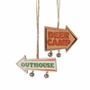 Item # 261567 - Hunting Arrow Sign Ornament