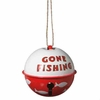 Item # 261584 - Gone Fishing Bell Bobber Christmas Ornament