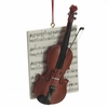 Item # 261785 - Resin Violin With Music Ornament