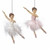 Item # 261868 - Resin Ballerina Christmas Ornament
