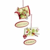 Item # 261879 - Resin Quilt Crazy/Scrappin' Christmas Ornament