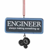 Item # 261946 - Resin Engineer Christmas Ornament