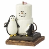 Item # 262059 - Resin Smores With Penguins Christmas Ornament