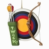 Item # 262353 - Resin Archery Ornament