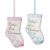 Item # 262385 - Baby Stocking Christmas Ornament