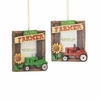 Item # 262565 - My Little Farmer Frame Christmas Ornament