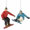 Item # 262910 - Male Snowboarder Christmas Ornament