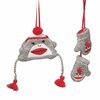 Item # 262937 - Sock Monkey Hat/Mittens Christmas Ornament