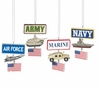 Item # 262946 - Military Sign With Dangle Ornament
