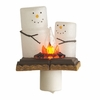Item # 263079 - S'mores Campfire Nightlight