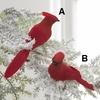 Item # 281018 - Red Clip-On Cardinal Christmas Ornament