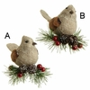 Item # 281067 - Tan Clip-On Bird Ornament