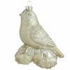 Item # 281076 - Champagne Bird Ornament