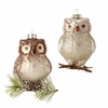 Item # 281166 - Brown/Silver Owl Ornament