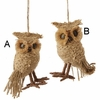 Item # 281237 - Tan Owl Ornament