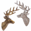 "Item # 281342 - 5.25"" Deer Head Christmas Ornament"