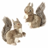 Item # 281469 - Natural Squirrel Christmas Ornament