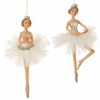 "Item # 281574 - 6.5"" Ballerina Christmas Ornament"