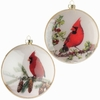 Item # 281861 - Cardinal Disc Ornament