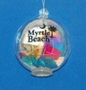 Item # 284004 - Myrtle Beach Beach Bubble Ornament