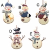Item # 291083 - Country Snowman Christmas Ornament