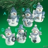 Item # 291095 - Blue Snowman Christmas Ornament