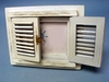 "Item # 294240 - 4"" x 6"" Wood Shutter Photo Frame"