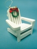 Item # 294453 - Wood Beach Chair Christmas Ornament