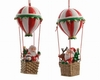 "Item # 360090 - 2.36"" Santa Balloon Ornament"
