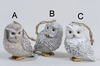 Item # 360142 - Natural Owl Ornament